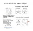 Movano Master NV 400 L2/H1 Laderaumverkleidung Seite hinten rechts oben Teil 7B