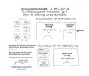Movano Master NV 400 Laderaumverkleidung Seite links vorne einteilig Teil 1