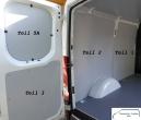 Daily L2/H1 Laderaumverkleidung Seite links vorne Teil 1