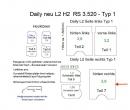 Daily L2/H2 Laderaumverkleidung Seite hinten rechts Teil 7